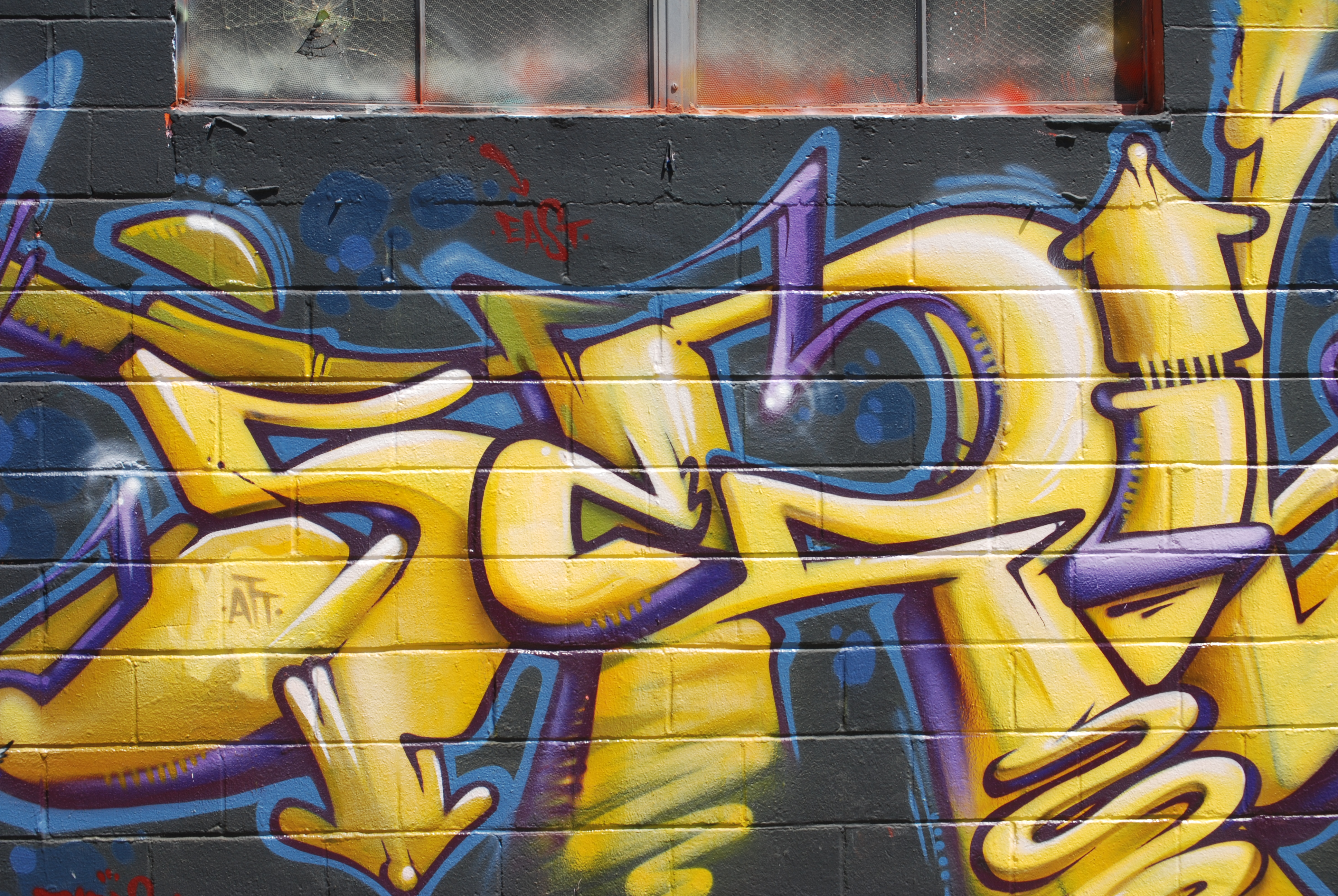 """Writing on the wall–The """"people\'s art"""". 