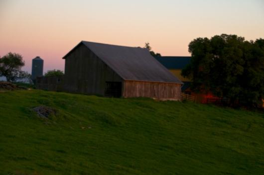 Barn on Sonoma Mountain Road