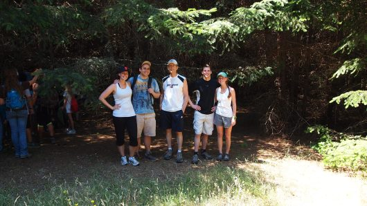 July 4th hike in Bear Valley, Point Reyes