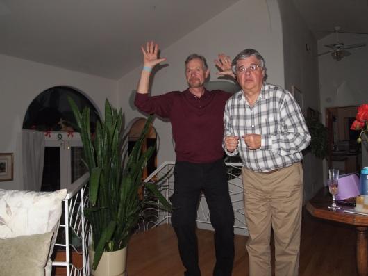 Tio and Jim, NYE 2013