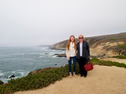 Meg and Jane at Bodega Headlands