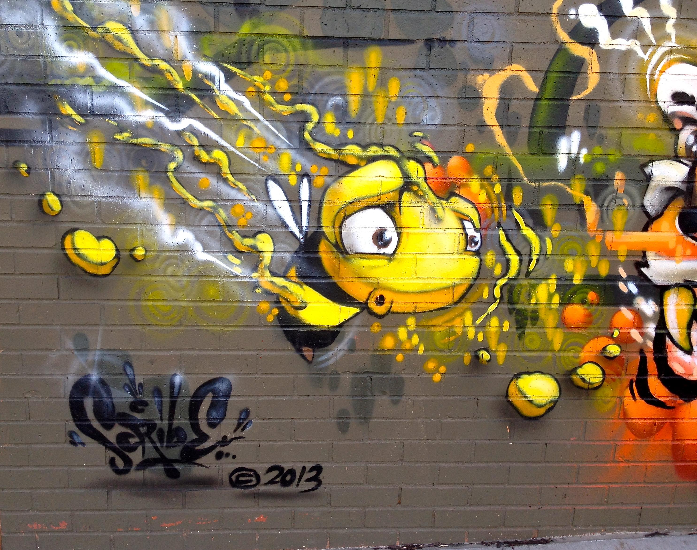 Graffiti Marathon: Westport and Broadway | Shifting the Balance