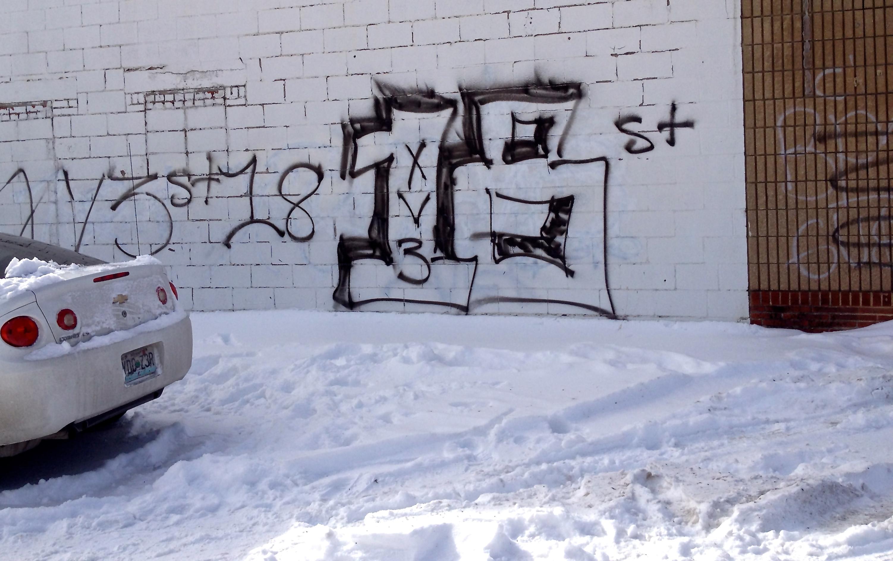 Gang Graffiti Shifting The Balance