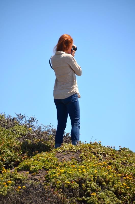 Meg Photographs Her Beloved California